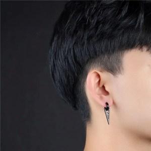 BTS Triangle Hoop huggie Earrings