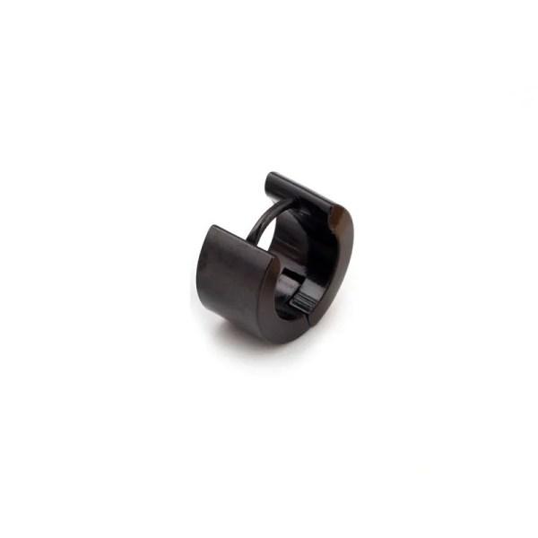 Round Stud Earrings Stainless Steel Men 4