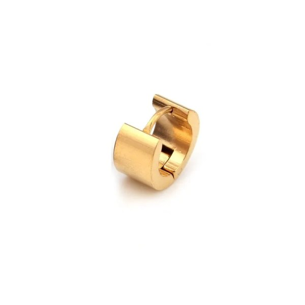 Round Stud Earrings Stainless Steel Men 5