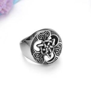 Celtic Knot Ring Stainless Steel Size 7-14 for Men 3