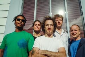 Scott Amendola Band (Jeff Parker, Jenny Scheinman, Scott Amendola, Nels Cline, John Shifflett). Photo courtesy of artist.