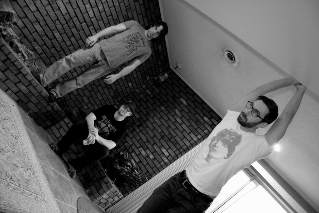 Musket Hawk Band Promo Photo - B-W