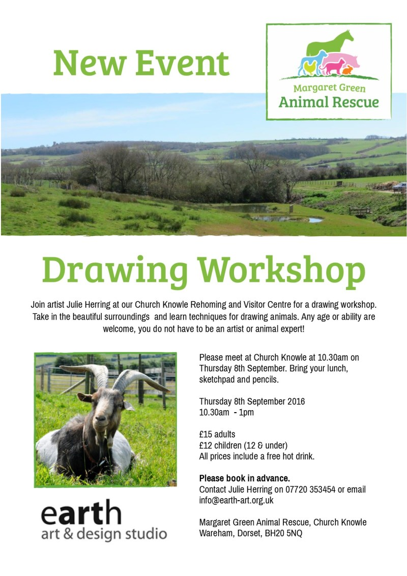 Poster Drawing Workshop 8th Sept