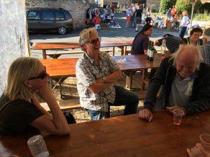 Gert samen met Gerard en Ella Koerts in Frankrijk.