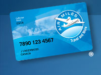 Air Miles Card - Image Courtesy of www.airmiles.ca
