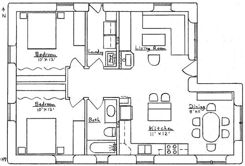 Cozy Cottage Plan