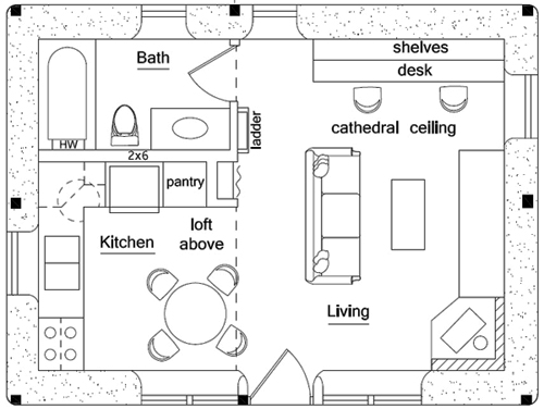 House Plan Design Autocad – House Design Ideas