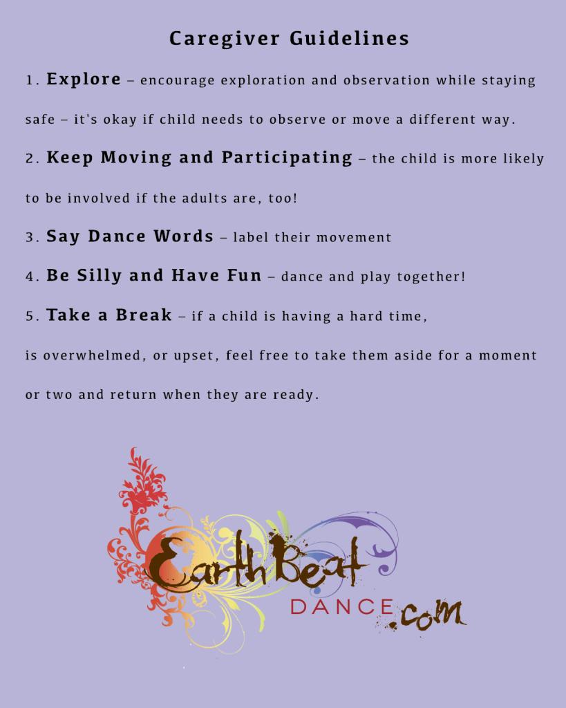 caregiver guidelines