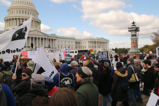 crowd at capitol