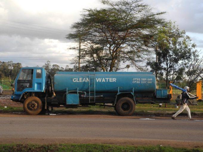 clean water truck