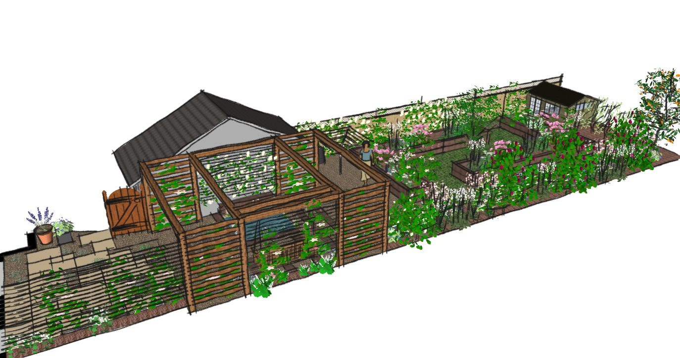London Garden Design Walthamstow A Cottage Garden Earth