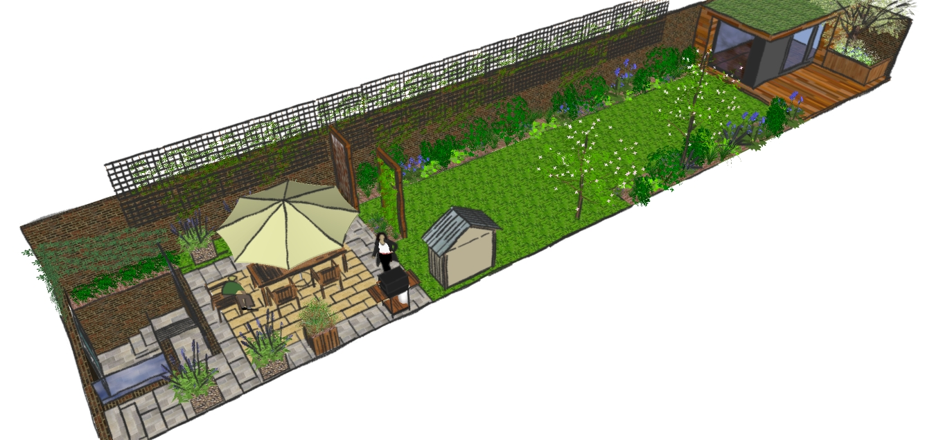 London Garden Design Hackney Low Maintenance Family Garden