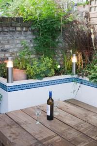 Moroccan Courtyard Garden in East London