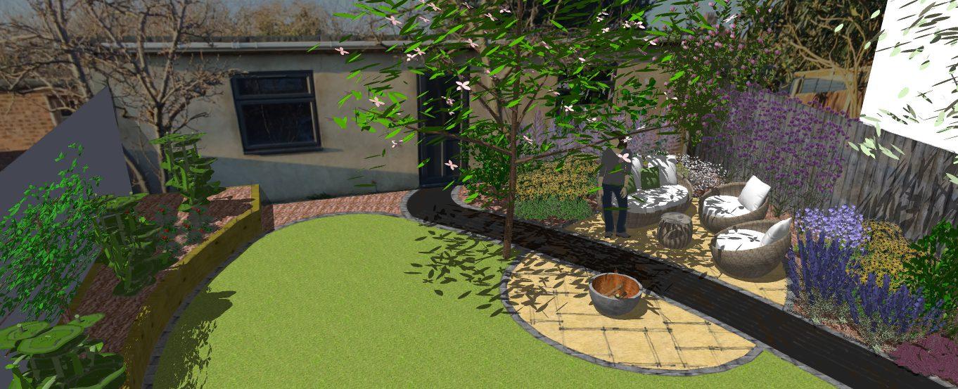 A Modern Garden Presentation Love Your Curves Earth