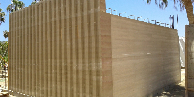 EarthDwell  Rammed Earth Construction in Washington State