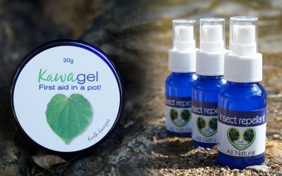 Beat the bugs – Natural kawakawa insect repellent and itchy bite range