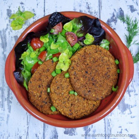 Low-Fat Vegan Bean Burgers [Recipe]