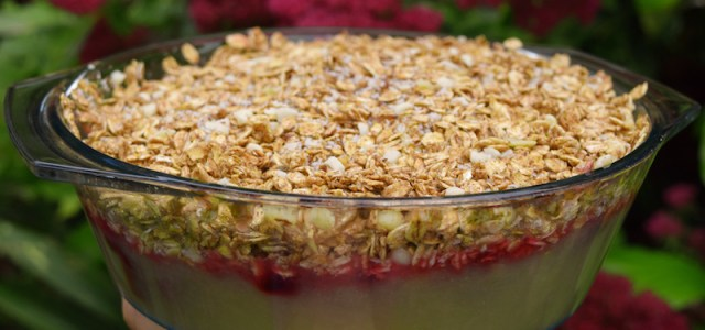 Low Fat Vegan Crumble