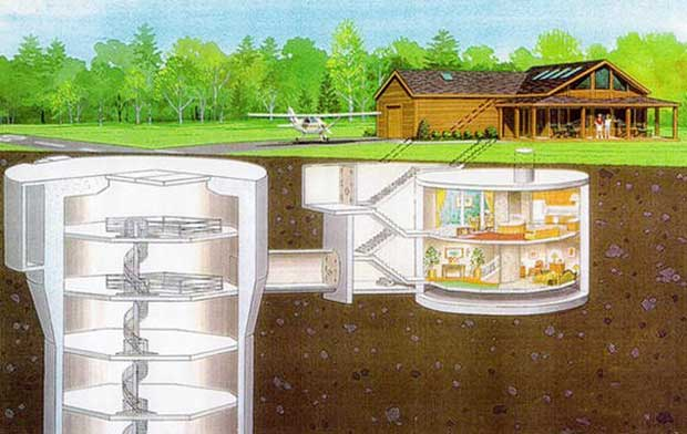 Underground Home Plans And Designs Natural Security Shelters