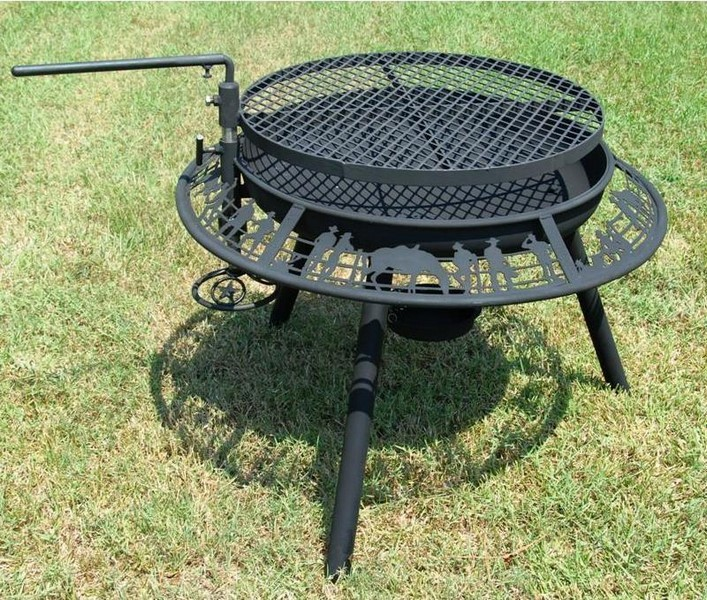 retro metal garden chairs mechanical chair the ultimate bbq steel outdoor fire pit