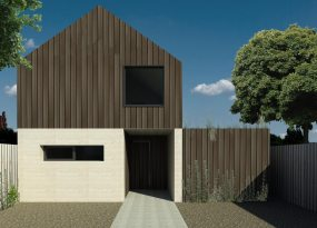 The Spinifex is a 3-bedroom house design by EarthHouse, which designs and builds rammed earth homes in Melbourne and the Mornington Peninsula
