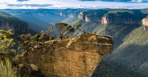 Hanging Rock Lookout in the Blue Mountains