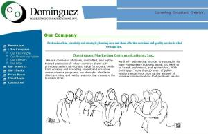 Dominguez Marketing Communications