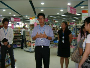 Daiso-Sangyo President, Mr. Hirtotake Yano
