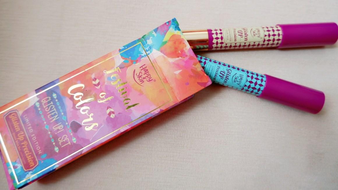 Happy Skin Festival of Colors GlIsten Up Set Limited Edition Glisten Up Precision Cheek Stick Set Review