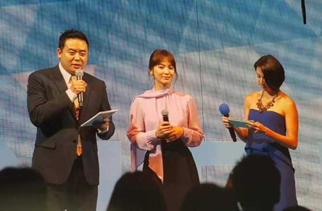 Laneige Global Media Event Song Hye Kyo