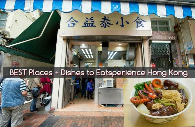 #Eatsperience Hong Kong