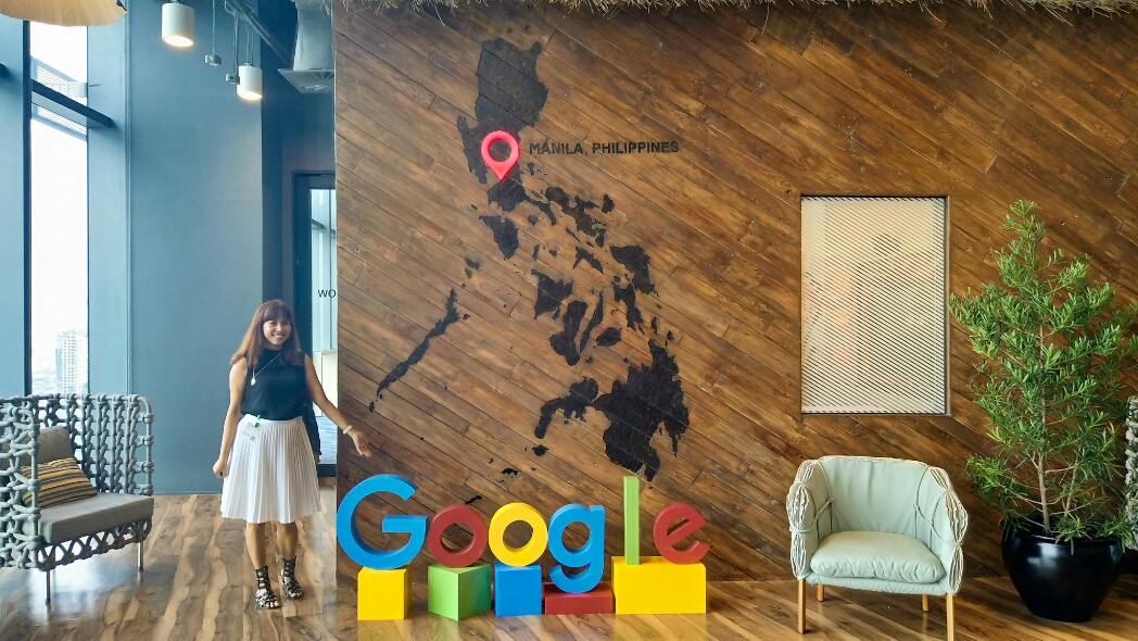 At Google Philippines Headquarters for the #WomenWill Forum