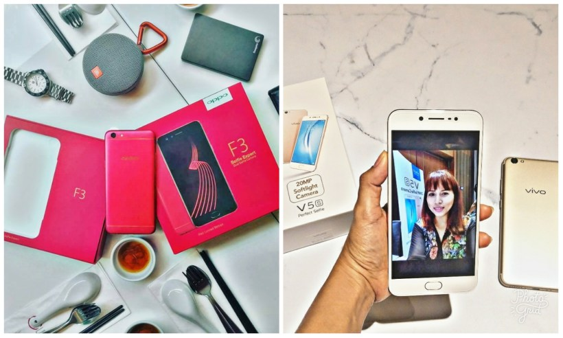Oppo f3 red Edition vivo v5 S review Philippines