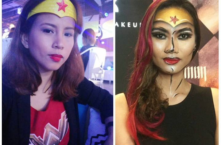 Wonder Woman Makeup