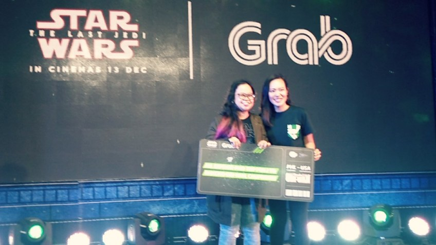 Grab The Last Jedi Promo winner #MastertheForce