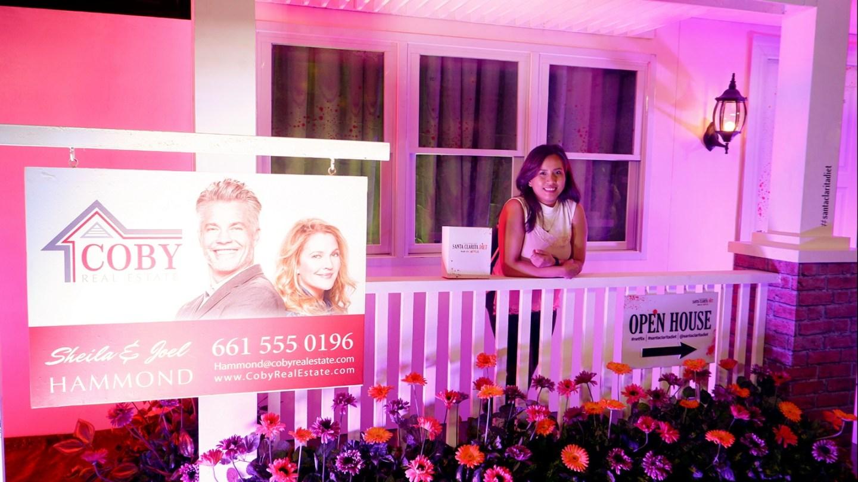 Drew Barrymore in Manila for Santa Clarita Diet