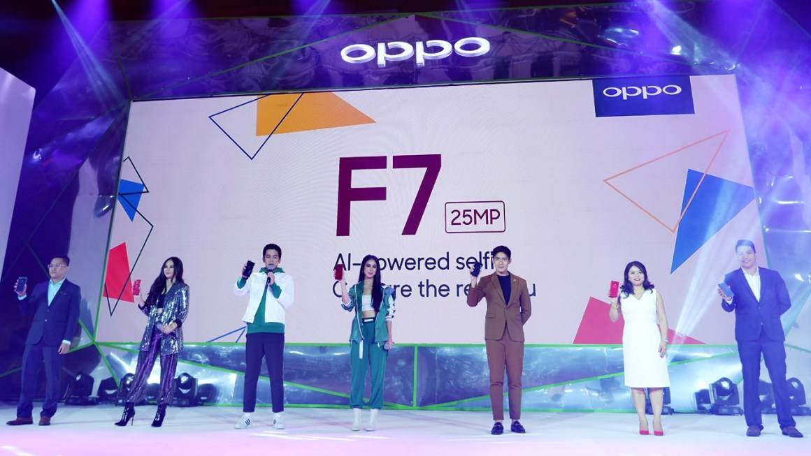 OPPO F7 Launched as the Beauty Smartfone to Beat to #CapturetheRealYou