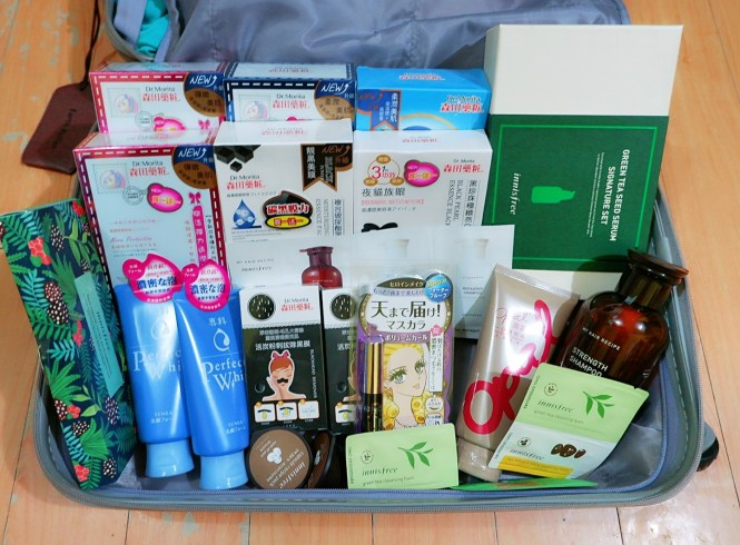 Taiwan beauty haul #EarthinTaiwan