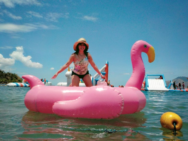 Inflatable island expectations vs realitu