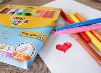 Bic kids coloring products