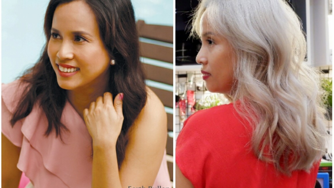 #HairColorGoals : How I Transitioned from Brunette to Silver Blonde (Part 1)