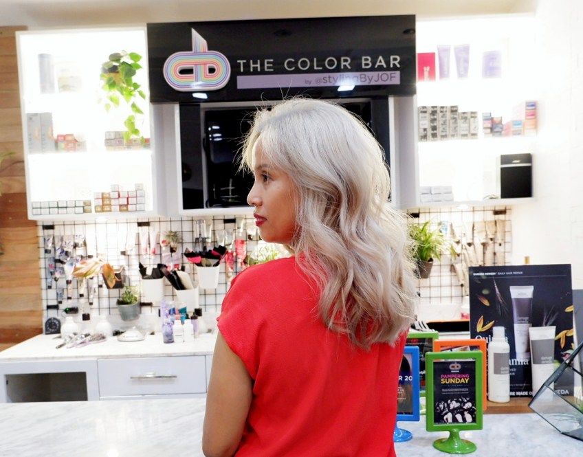 Where to get platinum blonde hair color
