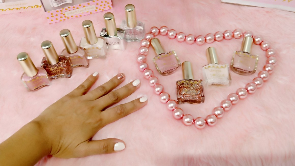 Gorgeous Goodies Benefit x Solique Gel Nail Polishes Launch + Benefit Holiday Sets