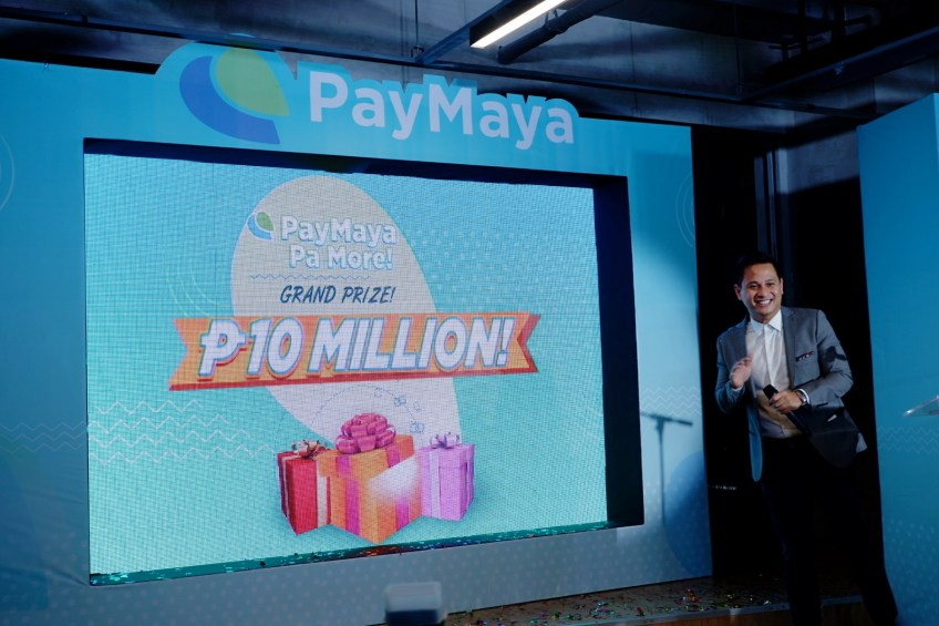Win 10 million with Paymaya