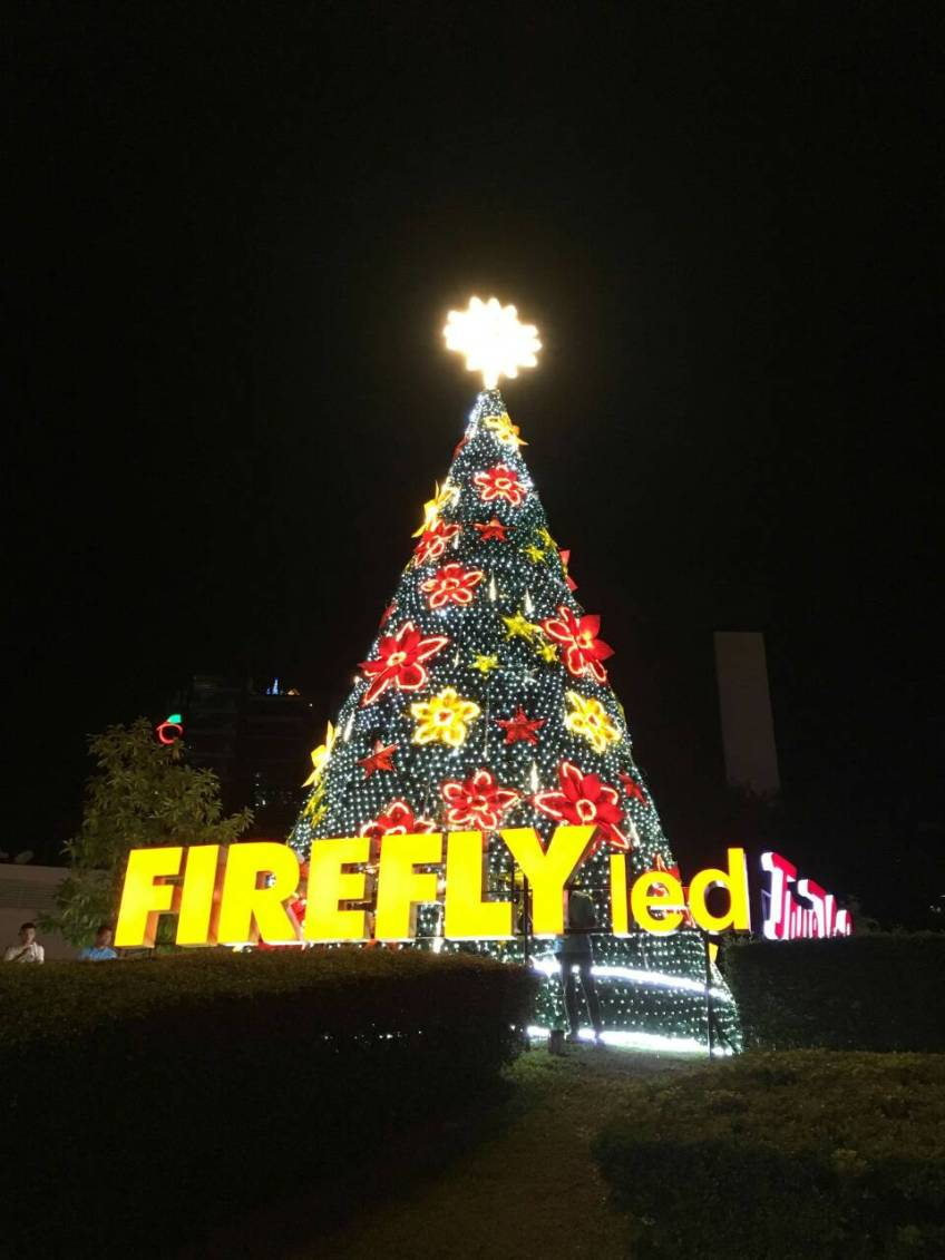 Christmas In The Philippines Shines As Firefly Led Illuminates The