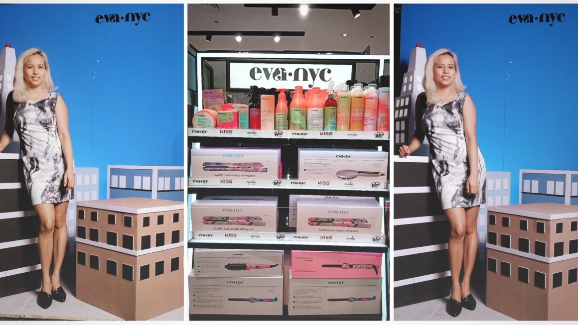 Make-up, Hair Care and Styling Tools by EVA NYC and KISS New York Now in the Philippines