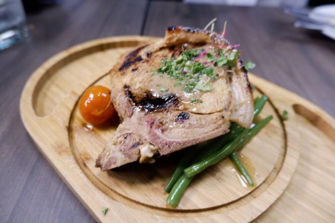 DC Cafe Shazam Pork Chop
