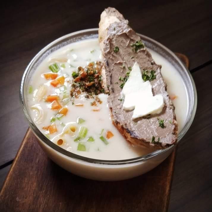 DC Cafe Shazam Macaroni Soup