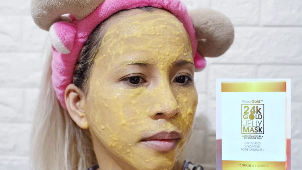 Pyoor Essentials 24K Gold Jelly Mask and Bar Soap Review + the Pyoor 24K Gold Set