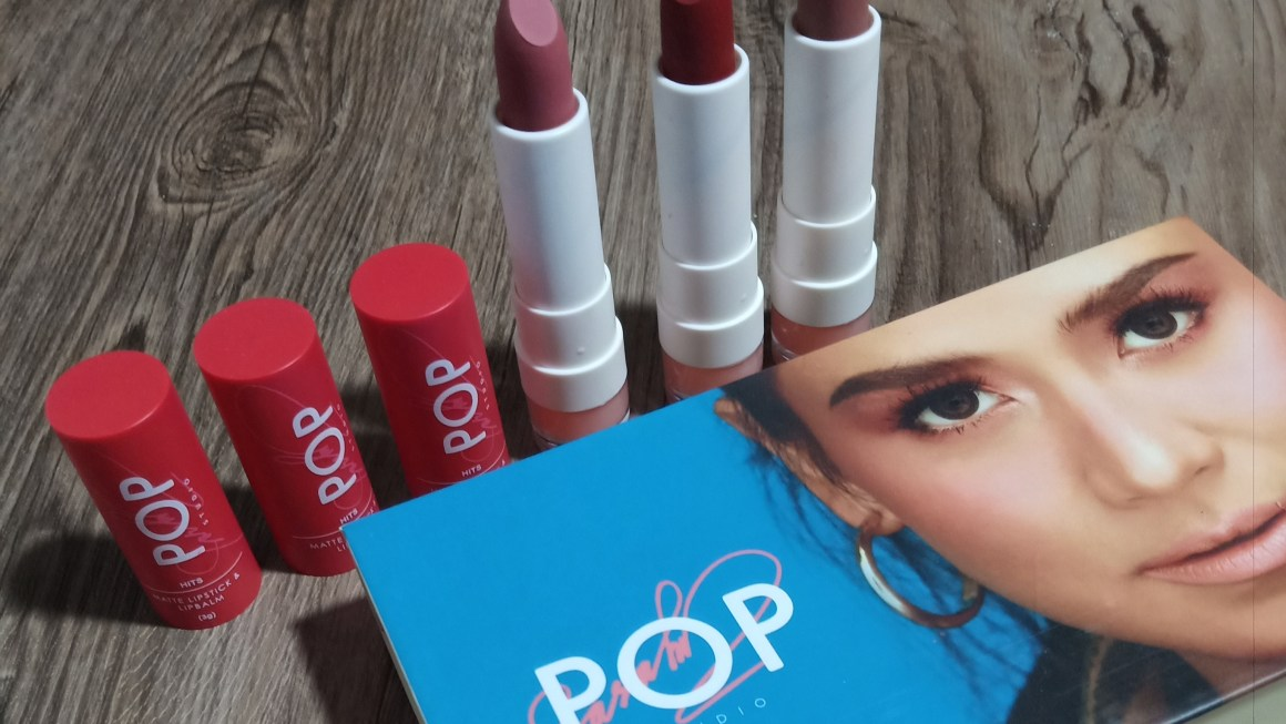 First Look: SG Pop Studio Hits Matte Lipstick and Lip Balm Review and Swatches